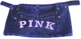 Puppe Love Denim Hondenrokje, Pink