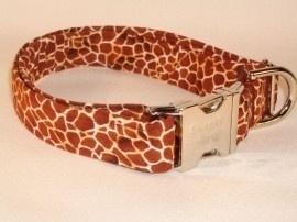 Swanky Pet Hondenhalsband Giraffe