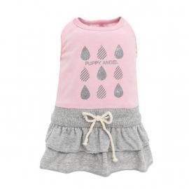 Puppy Angel Raindrop Skirt Dress, roze