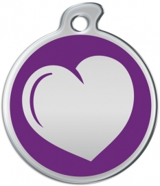 Misstoro penning Loving Heart Seance Purple