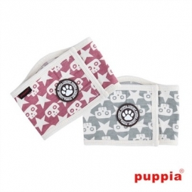 Puppia Plasband Sparrow Manner Band Wine, Maat S