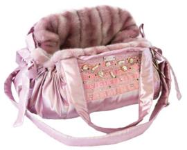 Mon Bonbon hondentas Samara Bag Small, Pink