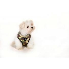 I Love My Dog hondenharnas Camu, Pink Maat L en XL