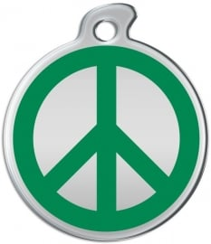 Misstoro penning Love and Peace Fun Green