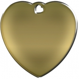 Misstoro penning Heart Brass
