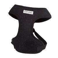 Puppy Angel Basic soft harness set, black Maat L