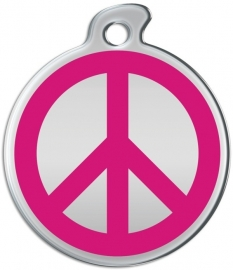 Misstoro penning Love and Peace Razzmatazz Pink