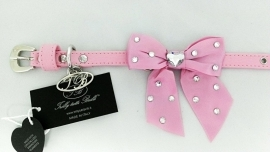 Trilly tutti Brilli Hondenhalsband  Lia, Roze, Maat 25 cm