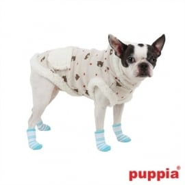 Puppia Hondensokjes Dolce Blue, Maat S