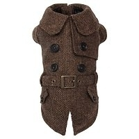 Puppy Angel CERONE Trench Coat bruin L en XL