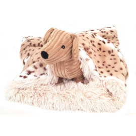 Bessie and Barnie Twinkle Bag Blondie / Snow Leopard