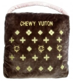 Dog Diggin Designs Brown Chewy Vuiton BED