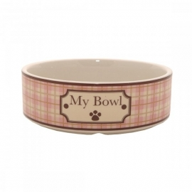 Country bowl pink, L