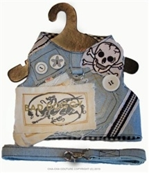 Cha Cha Couture Hondentuigje Bad Doggy, incl riem