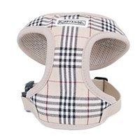 Puppy Angel Basic Soft London calling vest harness set, beige