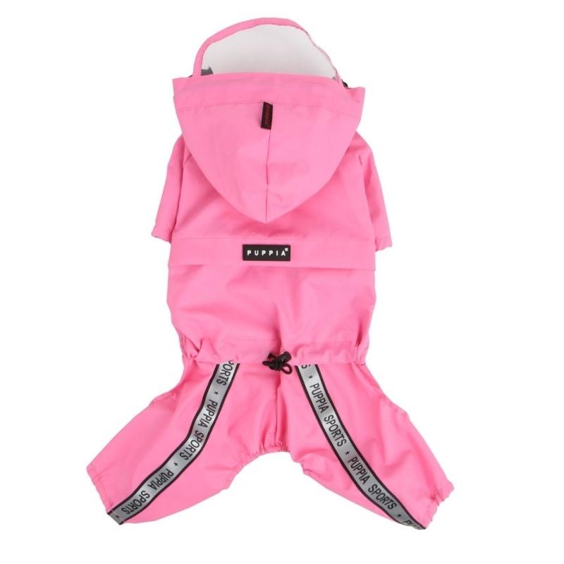 Puppia Regenpak Race Track, Pink