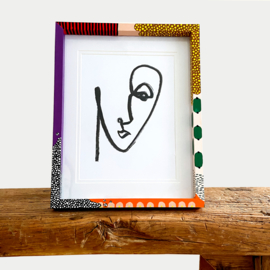 HANDPAINTED FRAME; PICTURE PERFECT 1