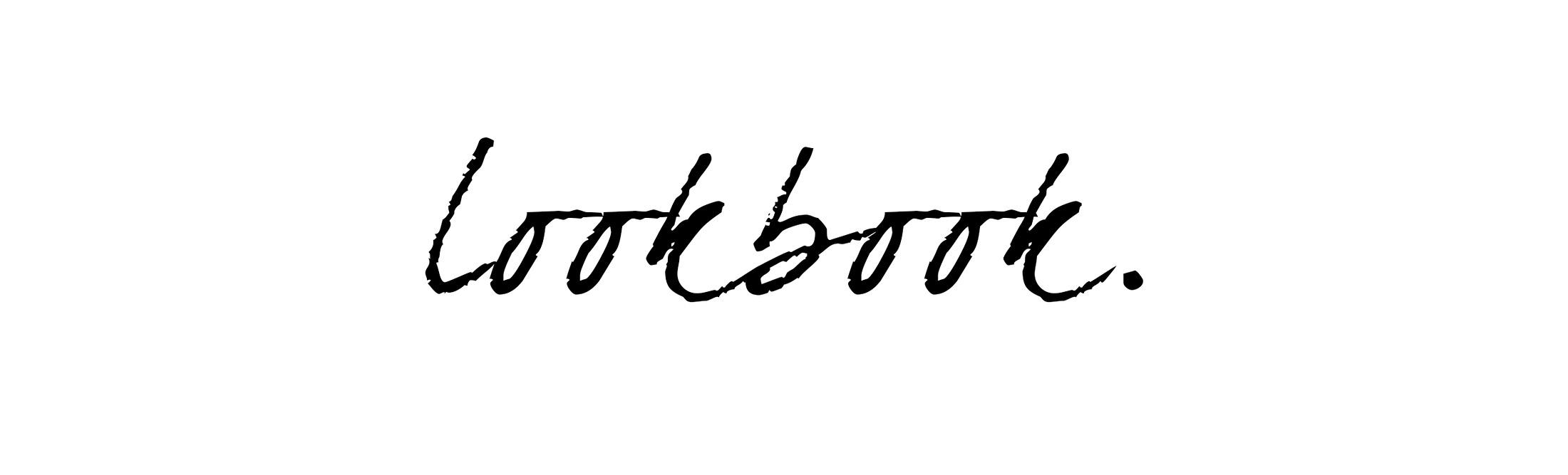 lookbookschrift