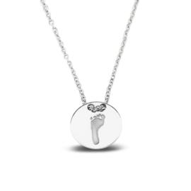 zilveren hanger voetafdruk (415 S) vanaf € 69,00