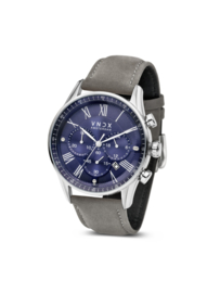 The Boss Leather Blue Gray