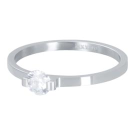 iXXXi  Vulring Mini glamour Stone - 2mm Zilver
