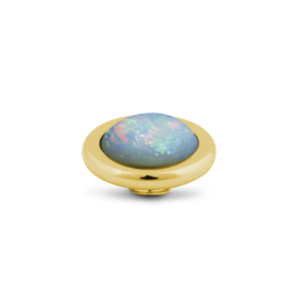 Vivid 'Blue Rounded Opal' top