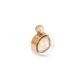 Melano Jewelry Globe Pendant 13mm - Rosé