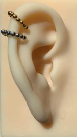 Karma earcuff - dots