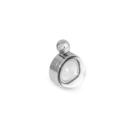 Melano Jewelry Globe Pendant 13mm - Zilver