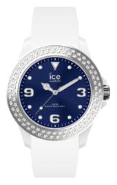 ICE star - white deep blue
