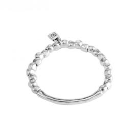 UNOde50 Armband - JOURNEY - Zilver - Elastisch