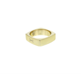 Ring Carre - Dore