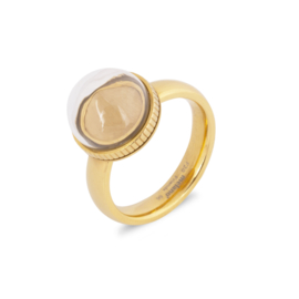 Melano Jewelry Globe Ring - Goud