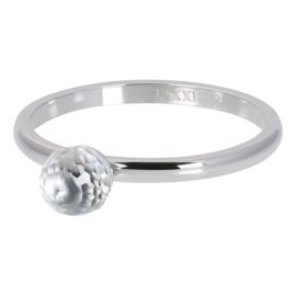 iXXXi  Vulring Crystall glass ball - 2mm Zilver