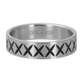 iXXXi Men vulring - Cross Line 6 mm