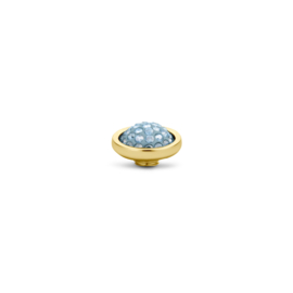Vivid 'Shiny' top - Aquamarine
