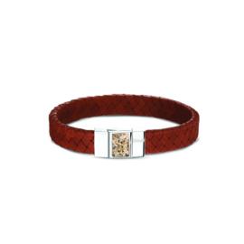 Lederen asbandarmband (BG 008) € 229,00