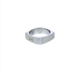 Ring Carre - Inox