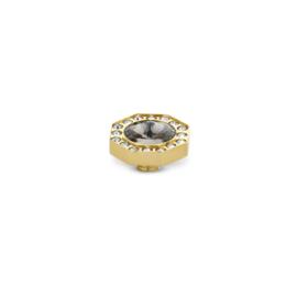 Vivid 'Octagon cz' - black diamond