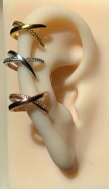 Karma earcuff - cross line