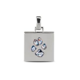 Zilver hanger pootafdruk as (AP 001 A-ASH) vanaf €195,00