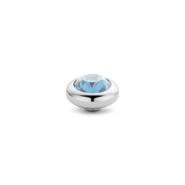 vivid CZ setting - Aquamarine
