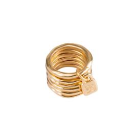 UNOde50 Ring - PRISONER   GOLD