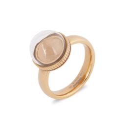 Melano Jewelry Globe Ring - Rosé