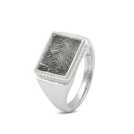 zilveren ring vingerafdruk (451 S) vanaf € 279,00
