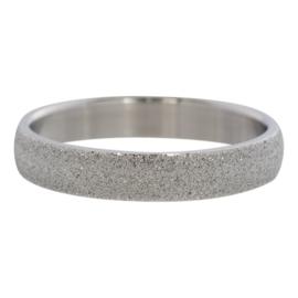 iXXXi vulring Sandblasted 4 mm - zilver
