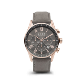 The Boss Leather Rosé Gray