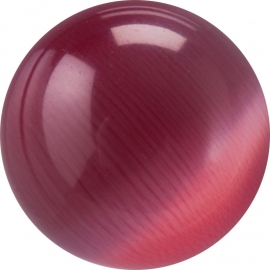 dark pink Cateye ball