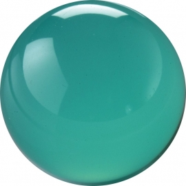 Turquoise CZ ball