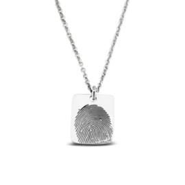 zilveren hanger vingerafdruk (414 S) vanaf € 79,00